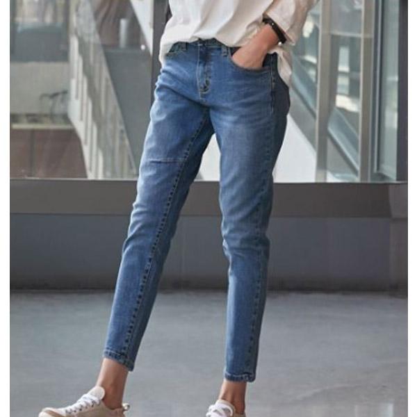 小設計彈性長褲