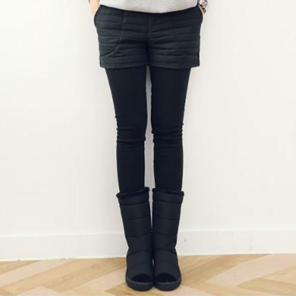 內刷暖暖假兩長褲