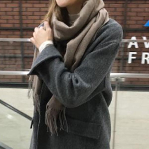 柔色大地美美圍巾