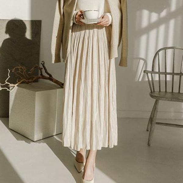 微微光澤迷人長裙