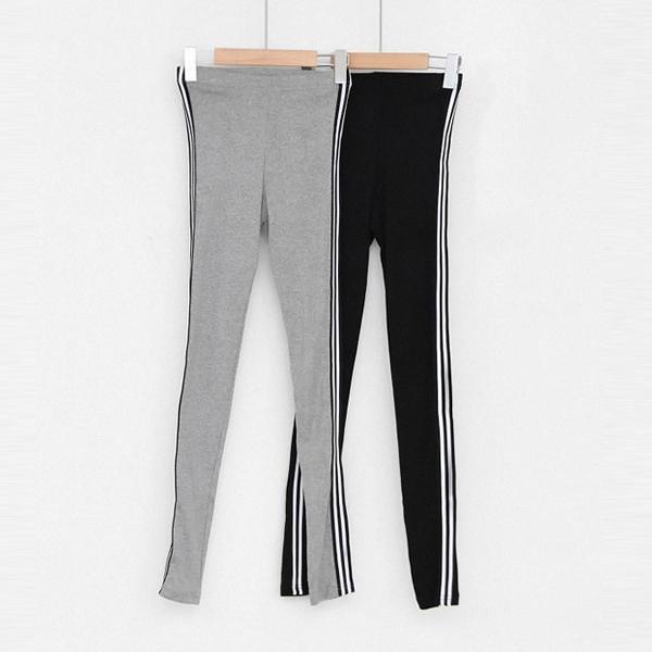 運動風雙條內搭褲,正韓,正韓商品,運動風,雙條,內搭褲