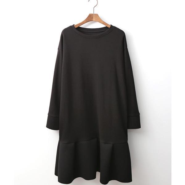 甜美拼接圓領連身裙,正韓,正韓商品,洋裝,裙裝,連身裙