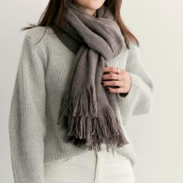 簡約暖心圍巾