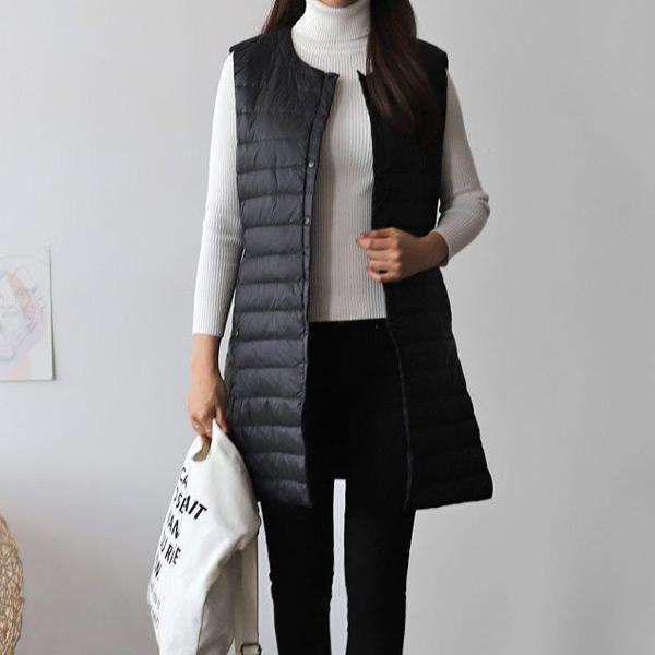 暖心上門無袖外套