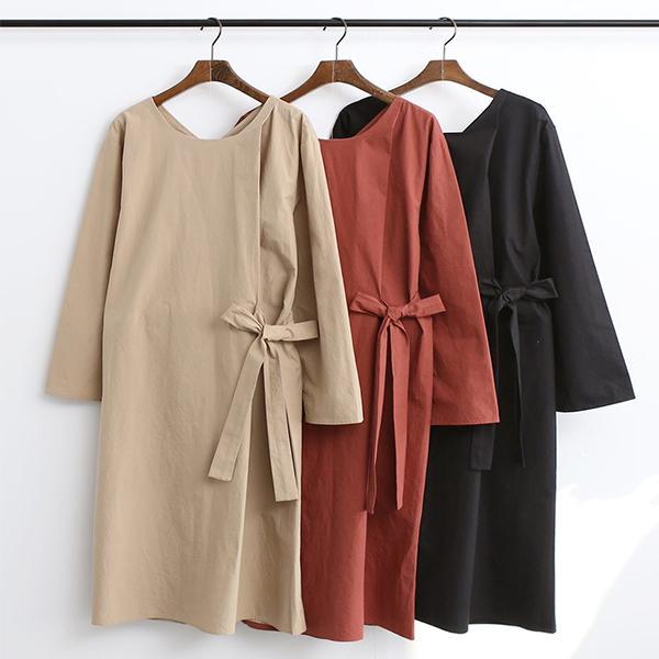 甜美氣質綁帶洋裝,正韓,正韓商品,優雅,氣質,百搭