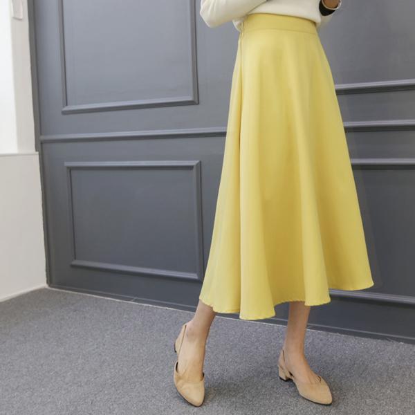 亮麗多彩氣質長裙