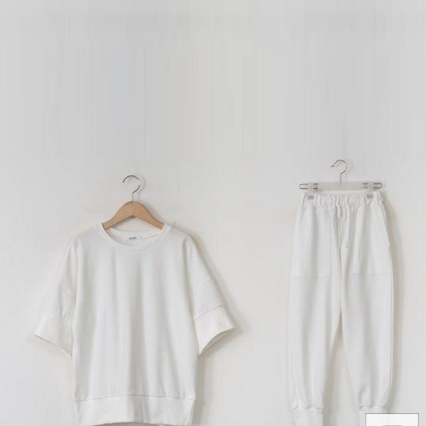 簡約休閒運動長褲套裝,正韓,正韓商品,春夏,簡約,休閒