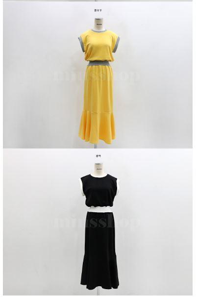 艷夏時尚魚尾洋裝