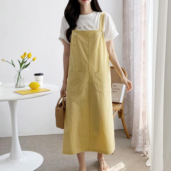 經典純色背心洋裝,正韓,正韓商品,,KOREA,D1-3414240