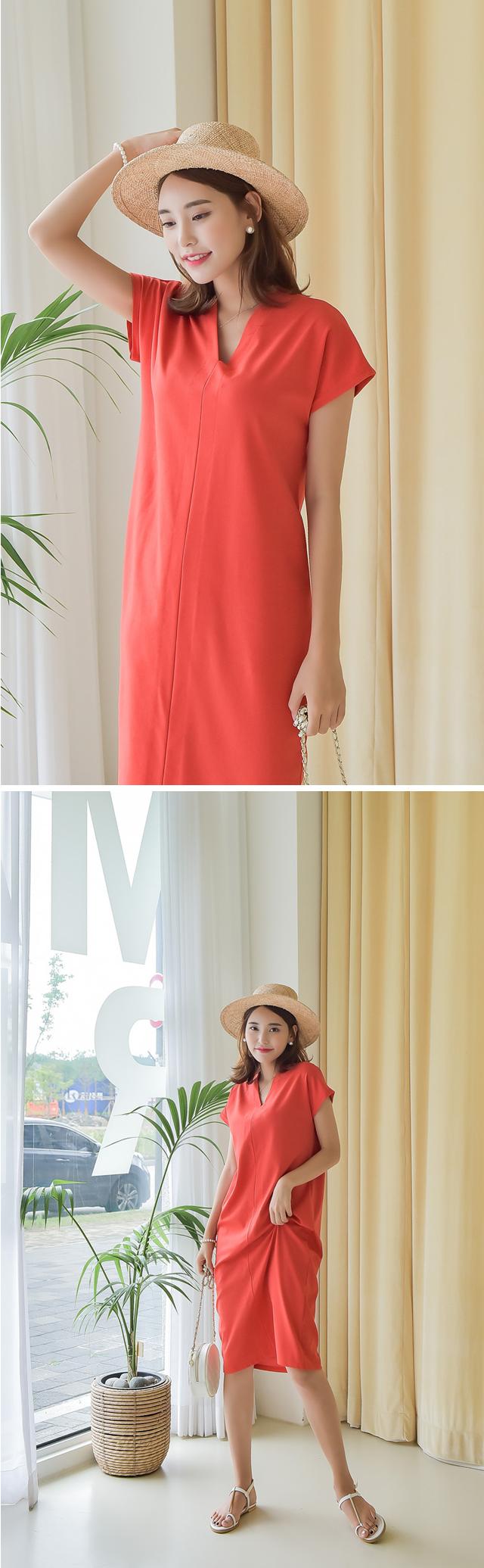 女神渡假風休閒洋裝