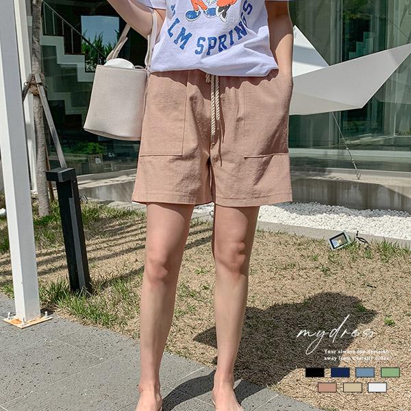 悠閒假期慵懶風短褲