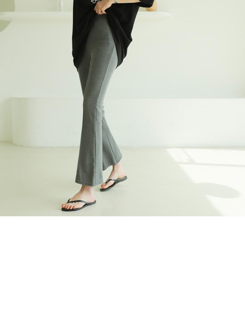 超修身時尚休閒親膚長褲