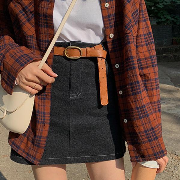 時尚百搭可調節皮帶