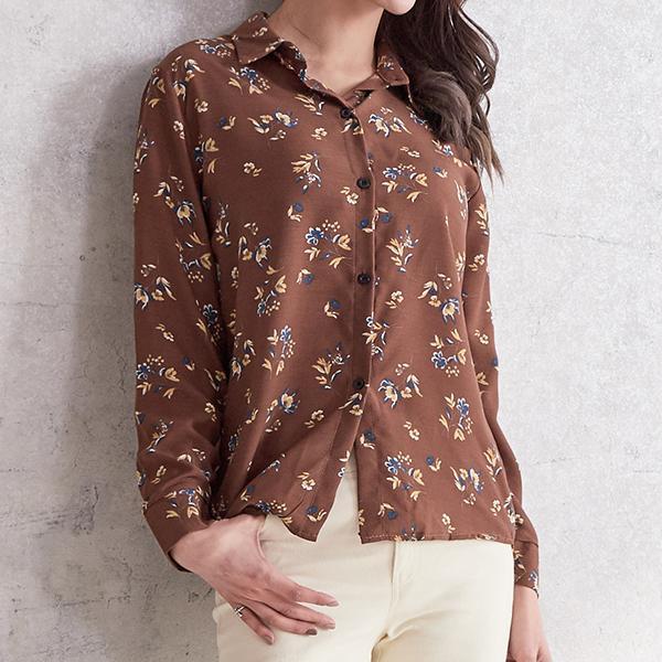 香蘭麻OL襯衫