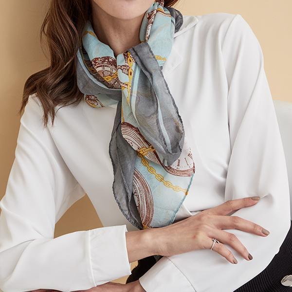 時尚設計款圍巾