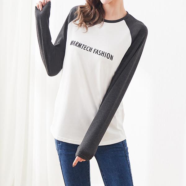 WARMTECH 女版時尚發熱衣,JEANSWE,百搭,休閒,時尚,時尚發熱衣