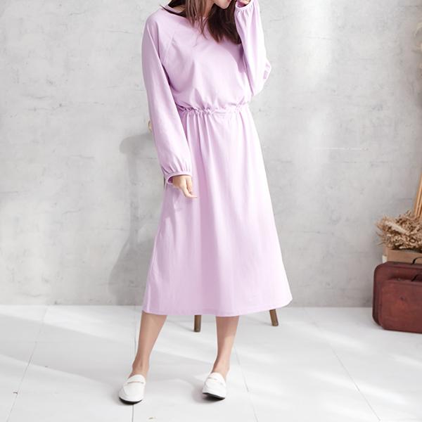 簡單淡雅純淨洋裝