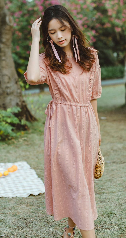 甜美女神氣質洋裝