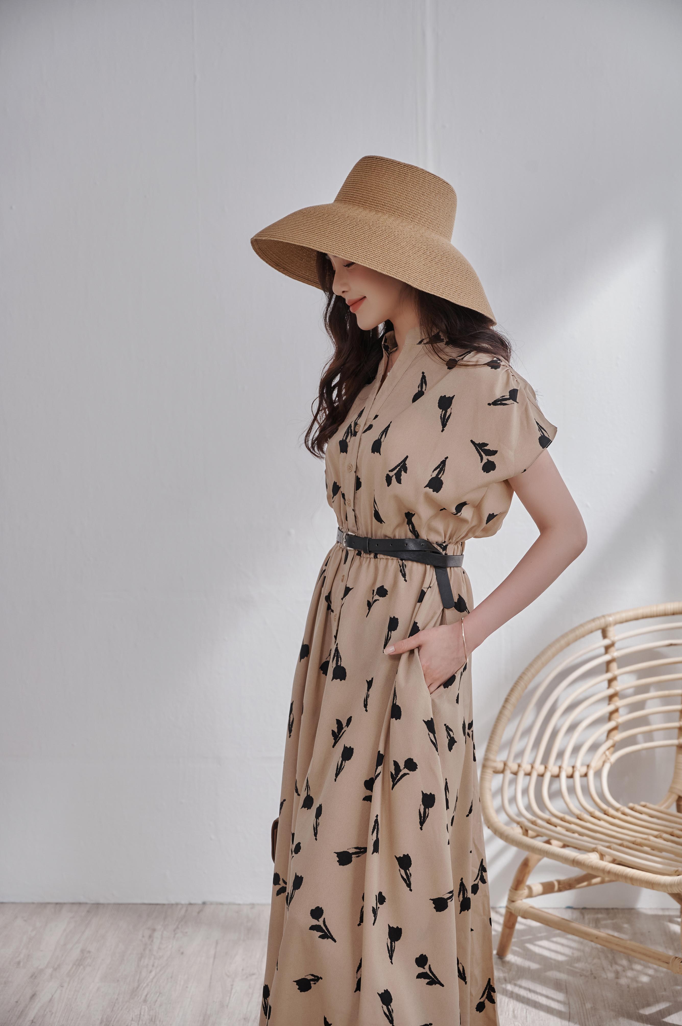 優雅復古風情遮陽帽