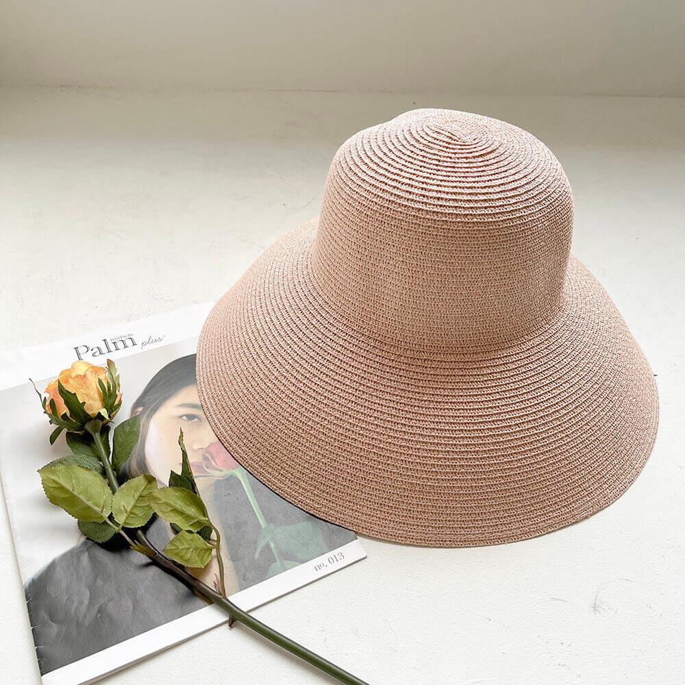 優雅復古風情遮陽帽,JEANSWE,百搭,帽子,配件,遮陽帽