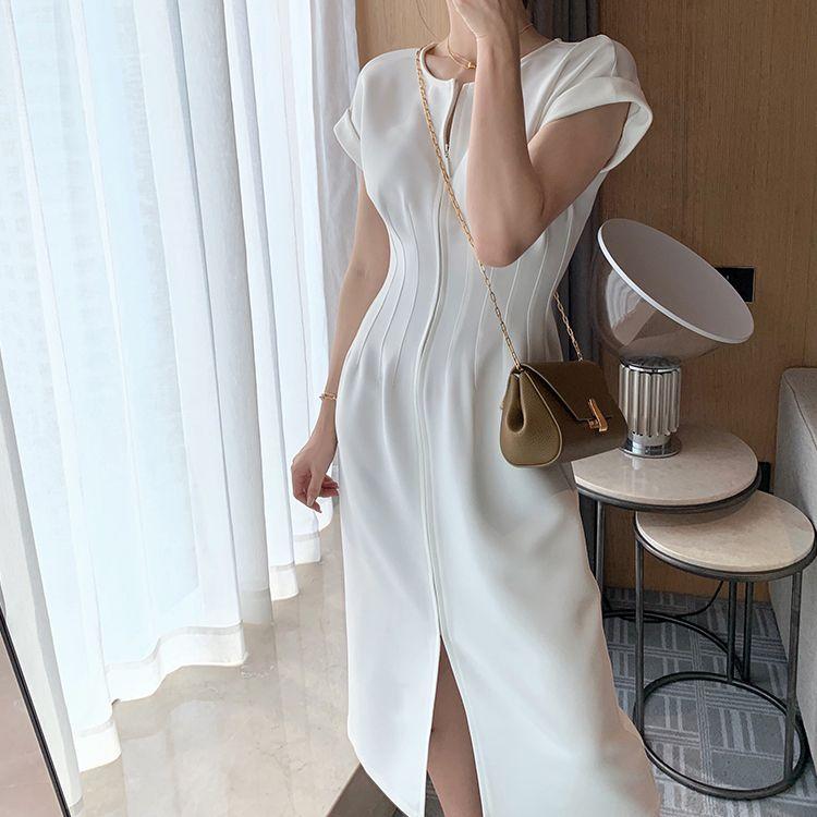 典雅雕塑收腰洋裝,,evaviva,V8-TD04261,典雅雕塑收腰洋裝,