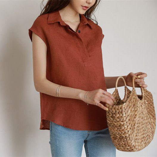 清新自然包袖襯衫,JEANSWE,百搭,襯衫,上班族,中大尺碼