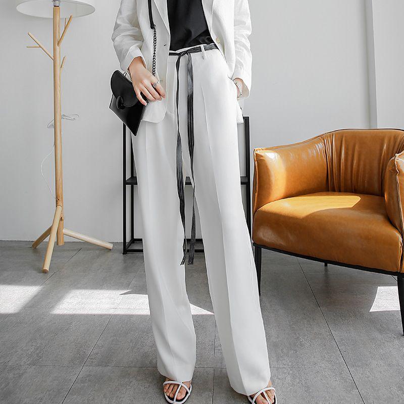 時尚垂感直筒西裝褲,evaviva,時尚,輕熟,西裝褲,垂感
