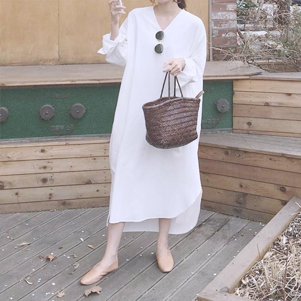 Oversize韓版寬鬆洋裝