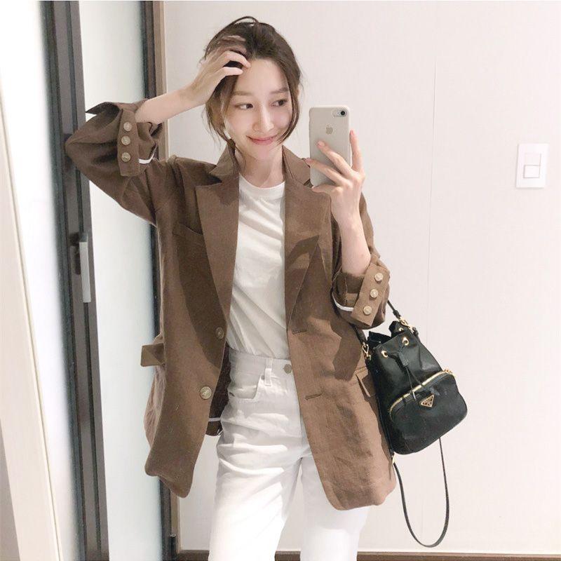 韓風休閒西裝外套