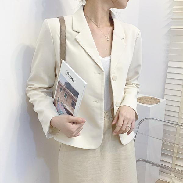 韓版休閒氣質小西裝外套