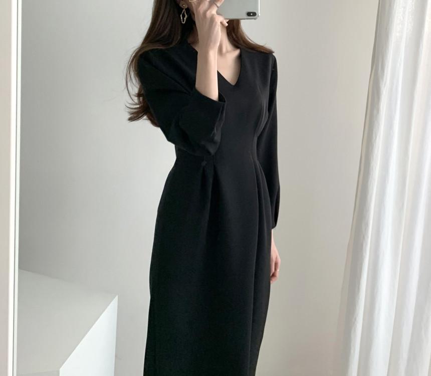 法式輕熟女包臀洋裝