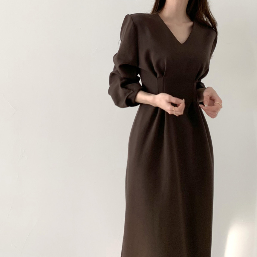 法式輕熟女包臀洋裝,evaviva,時尚,百搭,包臀,氣質