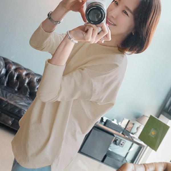 日式簡約風T恤,JEANSWE,百搭,素色,簡約,寬鬆