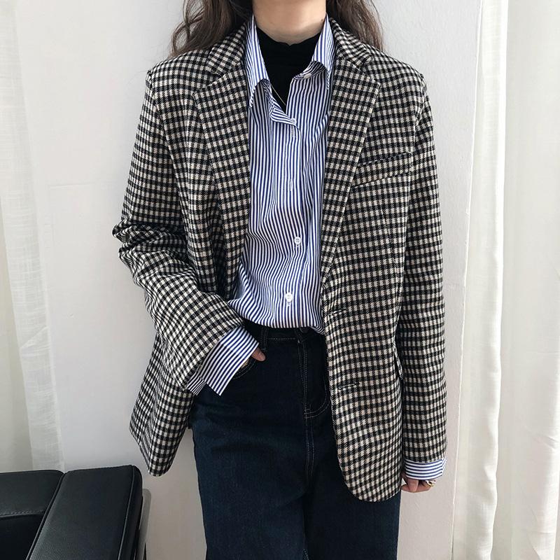 韓版網紅款西裝外套