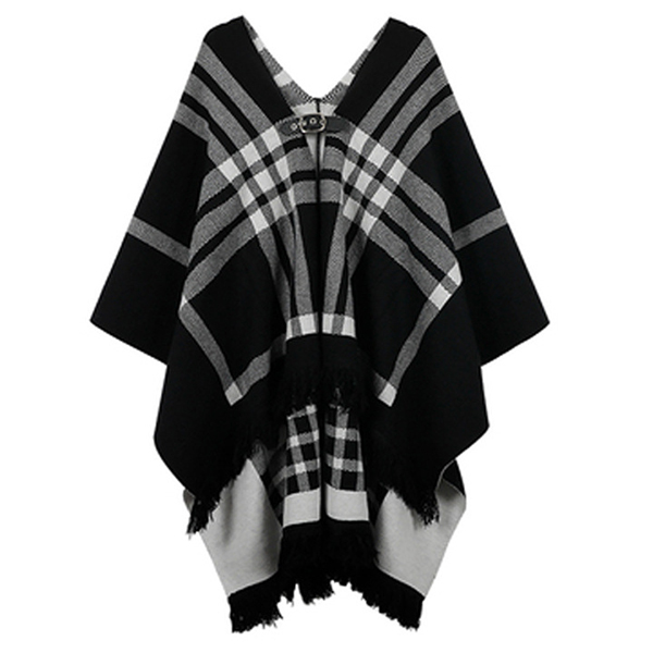 針織斗篷外套,evaviva,時尚,百搭,冬天,秋天