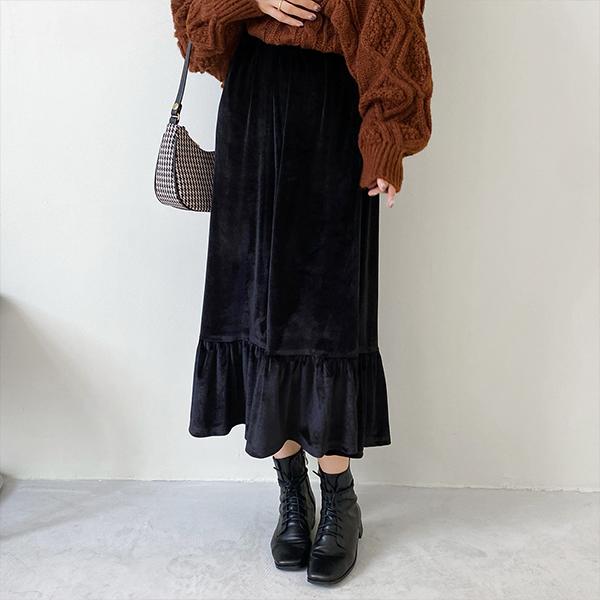 金絲絨魚尾裙
