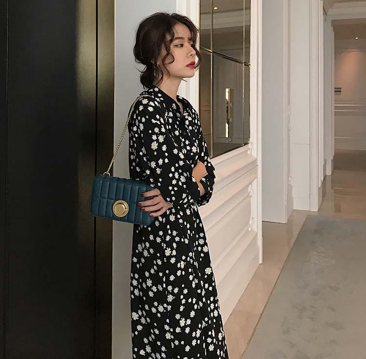 法式氣質小雛菊洋裝