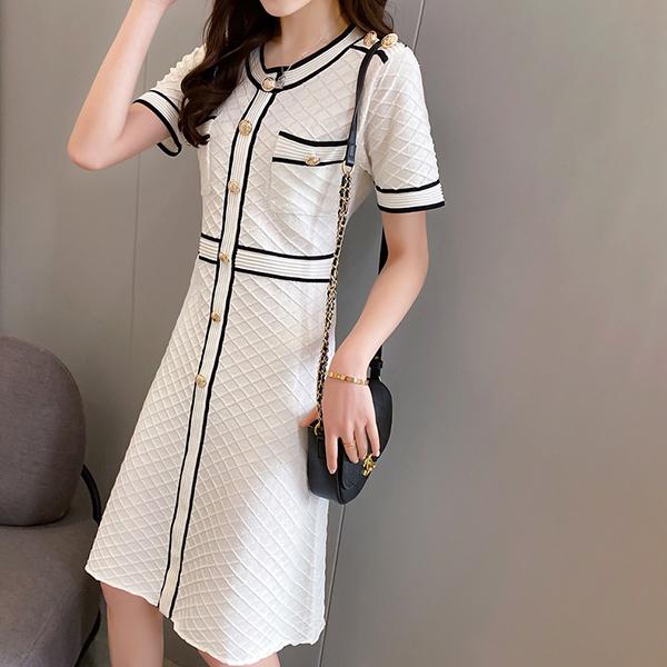 回頭率超高氣質洋裝,,evaviva,8C-UD06958,回頭率超高氣質洋裝,