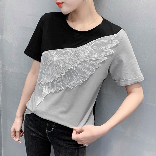 天使之翼幸福上衣,,evaviva,8C-UA06840,天使之翼幸福上衣,