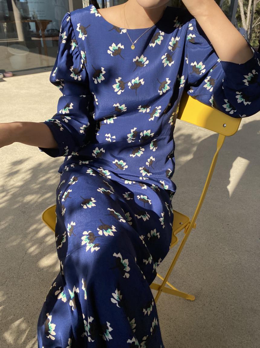幸福小女人長洋裝
