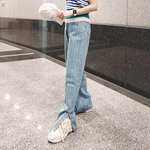 簡約個性慵懶感長褲,時尚,百搭,春天,夏天,牛仔褲