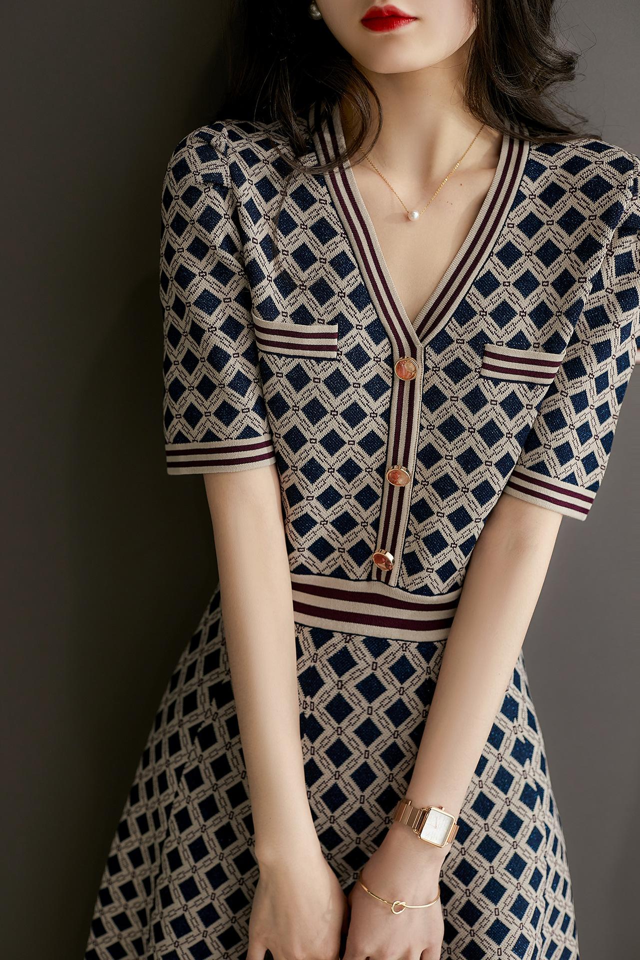 法式名媛感優雅洋裝