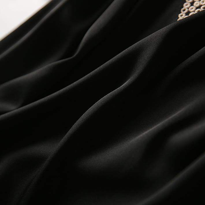 婉約名媛重工刺繡氣質洋裝