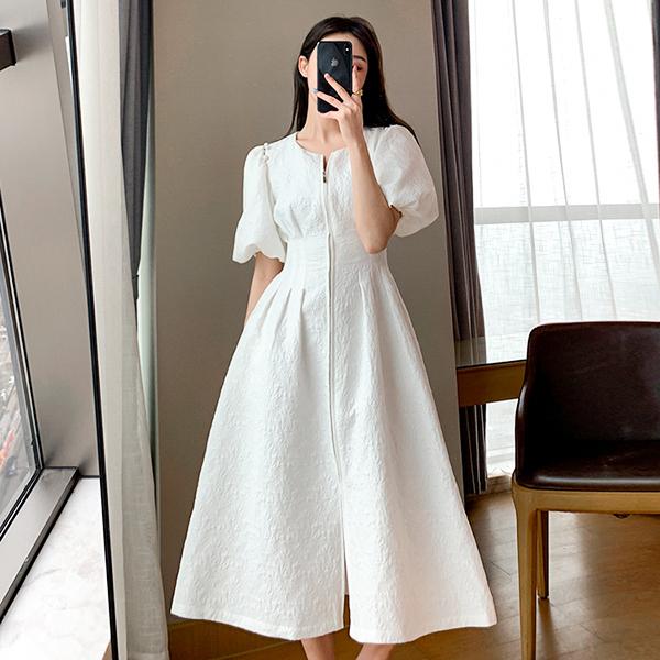 女王風範超顯瘦氣質洋裝