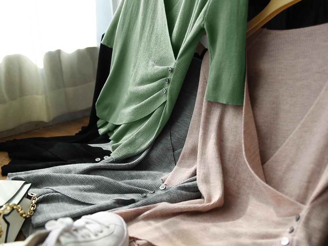 時尚女王V領設計氣場上衣