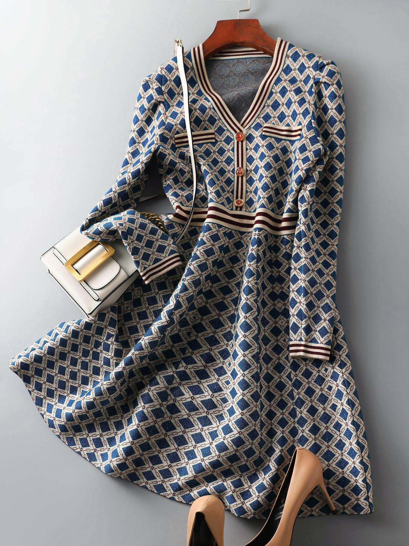 法式奢華名媛感洋裝