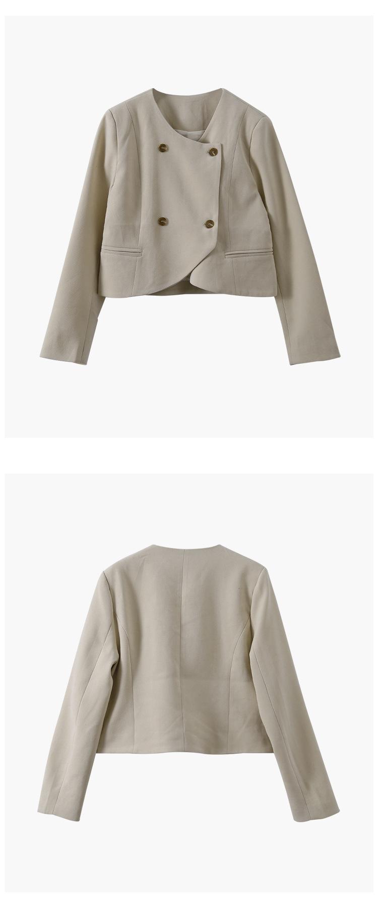 簡約小香感氣質美顯瘦外套