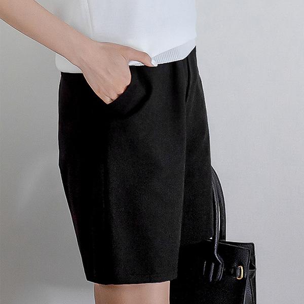 素雅舒適短褲
