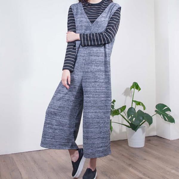 百搭舒適連身寬褲套裝,JEANSWE,百搭,修身,寬鬆,顯瘦