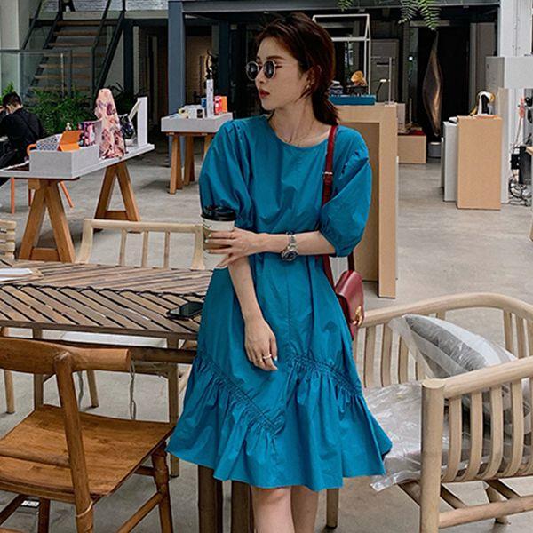 寬鬆逆齡懶人洋裝,MISS ROSSY,百搭,中大尺碼,MISS ROSSY,1O-TD04163